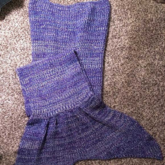 Other Crocheted Mermaid Tail Blanket Poshmark